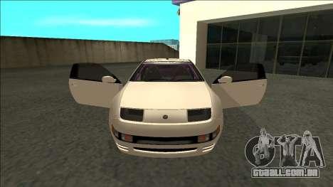 Nissan 300ZX Drift Monster Energy para GTA San Andreas vista interior