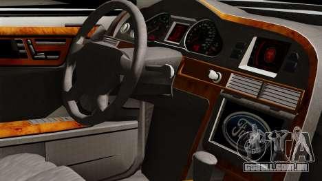 Ford Mondeo para GTA San Andreas vista direita