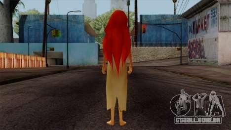 Ariel Mermaid para GTA San Andreas terceira tela