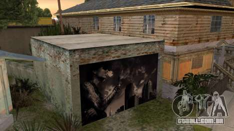 Johnson House Garage - Wiz Khalifa para GTA San Andreas terceira tela