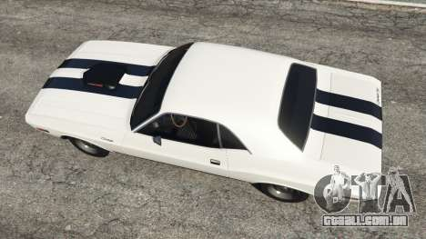 GTA 5 Dodge Challenger RT 440 1970 v1.0 voltar vista