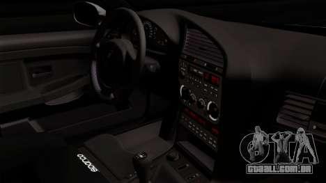BMW M3 E36 Tic Tac para GTA San Andreas vista direita