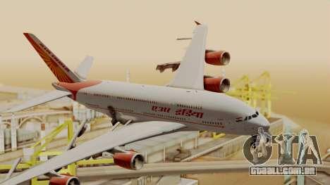 Airbus A380-861 Air India para GTA San Andreas