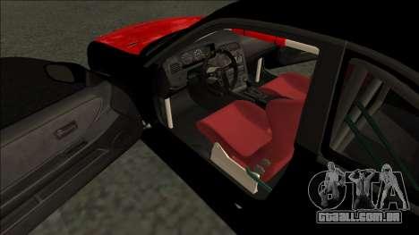 Nissan Skyline R33 Monster Energy para GTA San Andreas vista direita