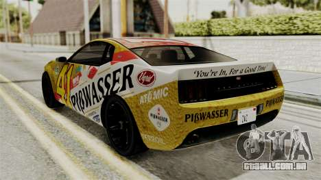 GTA 5 Vapid Dominator IVF para vista lateral GTA San Andreas
