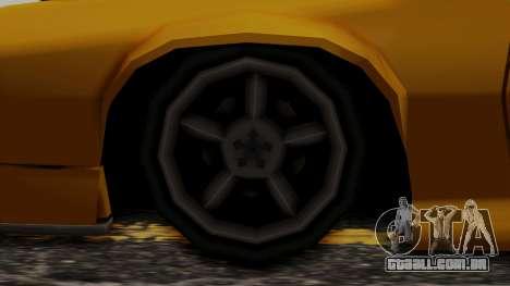 Buffalo (Minimal Tuned) para GTA San Andreas traseira esquerda vista