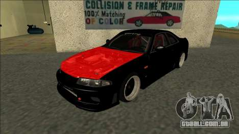 Nissan Skyline R33 Monster Energy para GTA San Andreas