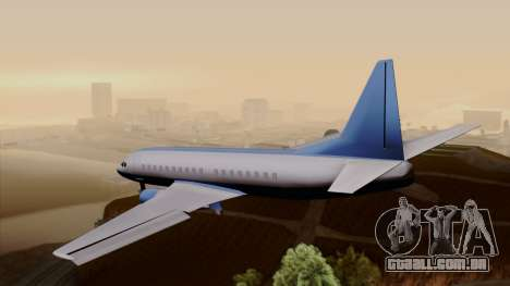 AT-400 Air India para GTA San Andreas esquerda vista