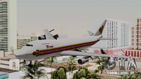 Boeing 747-200 Thai Airways para GTA San Andreas