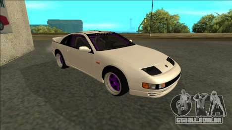 Nissan 300ZX Drift Monster Energy para GTA San Andreas esquerda vista