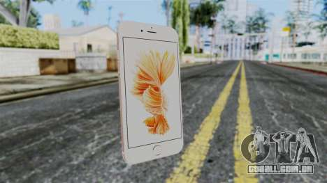 iPhone 6S Rose Gold para GTA San Andreas