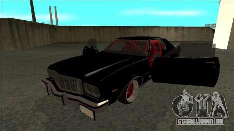 Ford Gran Torino Drift para GTA San Andreas vista traseira