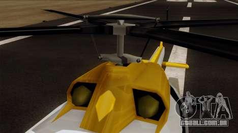 Armadillo from Vice City Stories para GTA San Andreas vista direita