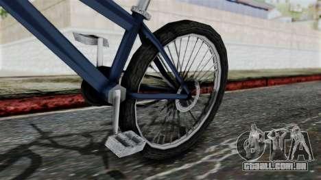 Mountain Bike from Bully para GTA San Andreas vista direita