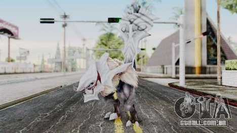 Ogretail from God Eater para GTA San Andreas segunda tela