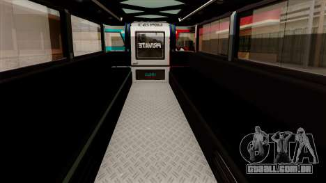 Auto Pormado - Gabshop Custom Jeepney para GTA San Andreas vista traseira