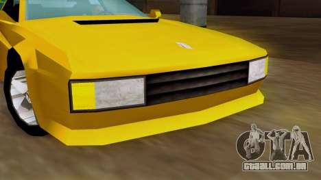 Cheetah from Vice City Stories IVF para GTA San Andreas vista traseira