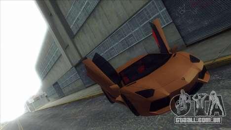 ENB Series Visão Clara v1.0 para GTA San Andreas segunda tela