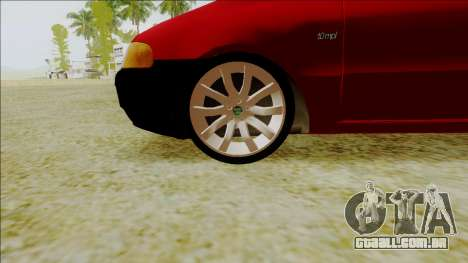 Fiat Palio EDX Turbo Performance para GTA San Andreas vista direita