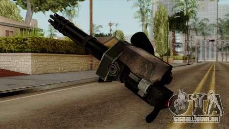 Gatling para GTA San Andreas segunda tela