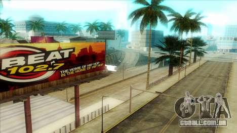ENB Series Visão Clara v1.0 para GTA San Andreas quinto tela