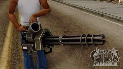 Gatling para GTA San Andreas terceira tela