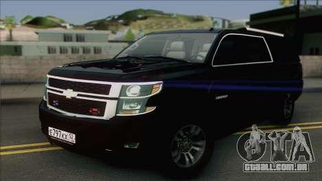 Chevrolet Exterior FSB para GTA San Andreas