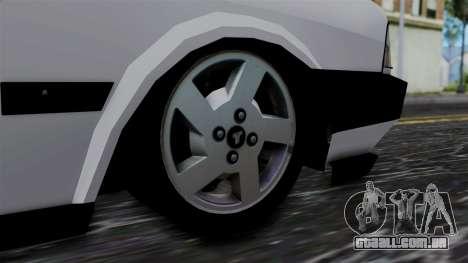 LV Copcar Civil para GTA San Andreas traseira esquerda vista