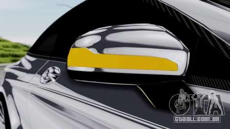 Brabus 850 Chrome para GTA San Andreas vista superior