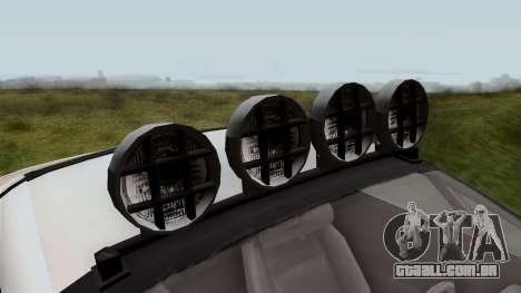 GTA 5 Coil Brawler IVF para GTA San Andreas vista traseira