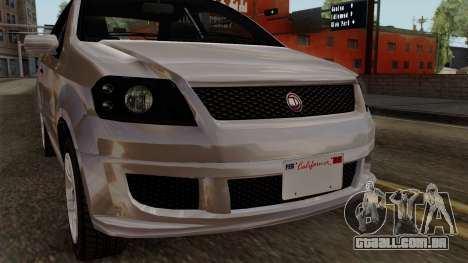 GTA 5 Declasse Asea para GTA San Andreas vista traseira