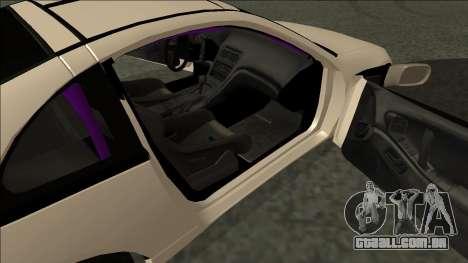 Nissan 300ZX Drift Monster Energy para GTA San Andreas traseira esquerda vista