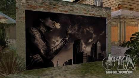 Johnson House Garage - Wiz Khalifa para GTA San Andreas