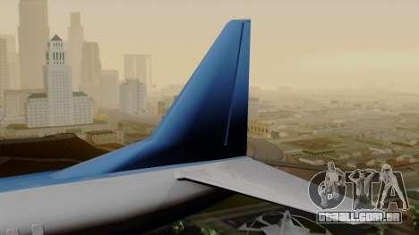 AT-400 Air India para GTA San Andreas traseira esquerda vista