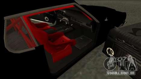 Ford Gran Torino Drift para GTA San Andreas traseira esquerda vista