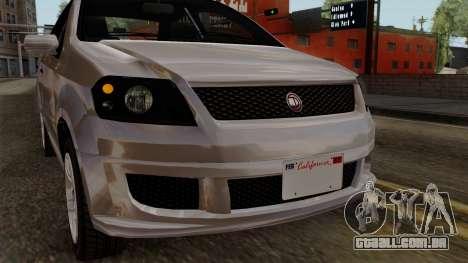 GTA 5 Declasse Asea para GTA San Andreas vista interior