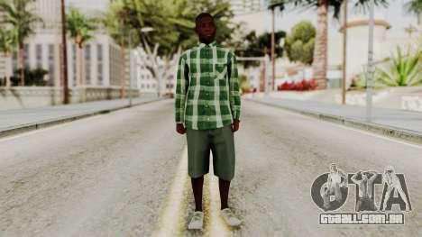 GTA 5 Family Member 2 para GTA San Andreas segunda tela