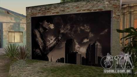 Johnson House Garage - Wiz Khalifa para GTA San Andreas segunda tela