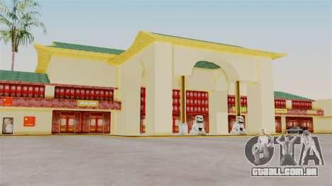 LV China Mall v2 para GTA San Andreas por diante tela