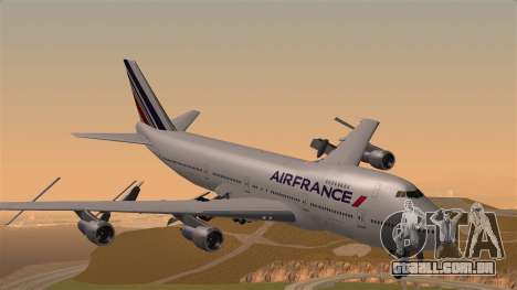 Boeing 747 Air France para GTA San Andreas
