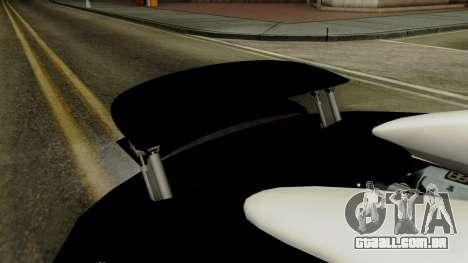 Bugatti Veyron 16.4 2013 Dubai Police para GTA San Andreas vista interior