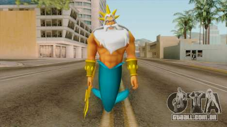 Triton (The Little Mermaid) para GTA San Andreas segunda tela