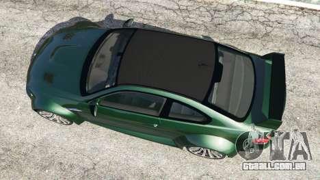 GTA 5 BMW M3 (E92) WideBody voltar vista