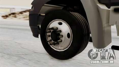 Mack Vision Trailer v2 para GTA San Andreas traseira esquerda vista