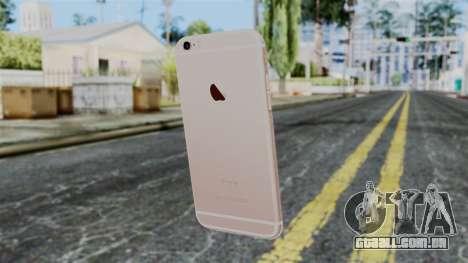 iPhone 6S Rose Gold para GTA San Andreas segunda tela