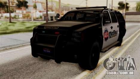 Sheriff Granger Police GTA 5 para GTA San Andreas