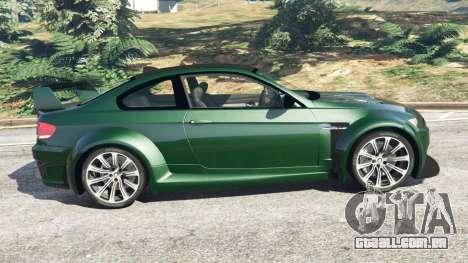 BMW M3 (E92) WideBody para GTA 5