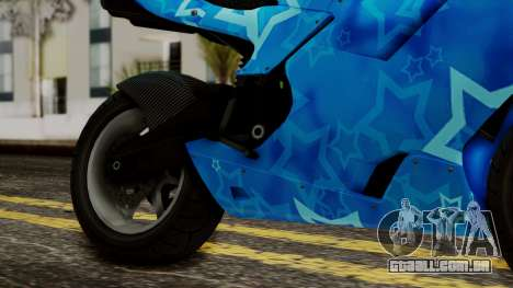 Bati VIP Star Motorcycle para GTA San Andreas vista direita