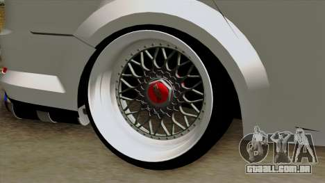 Ford Mondeo para GTA San Andreas traseira esquerda vista