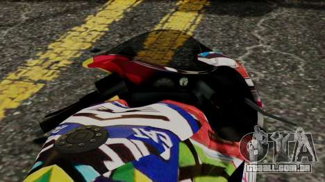 Bati Motorcycle JDM Edition para GTA San Andreas vista direita